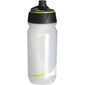 Tacx Shanti Twist Drinking Bottle 500ml transparent/green